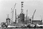 Construction of Smolenskaya NPP, Smolensk, Russia, 1984