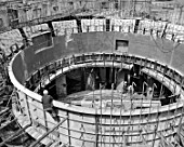 The construction of Cheboksary Hydro Power Plant, Republic of Chuvash, Russia, 1982
