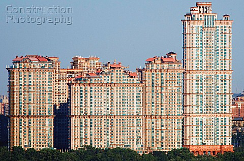 The Red Sail housing estate Moscow Russia 2007