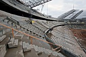 Shakhtyor Stadium under construction, Donetsk, Russia, 2008