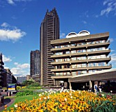 Flats in The Barbican Centre, London, UK