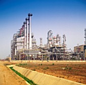 Oil refinery and petrochemical installations in Nigeria
