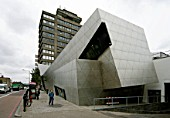Graduate Centre exterior, London Metropolitan University, Holloway, London, UK.  Daniel Libeskind Architect