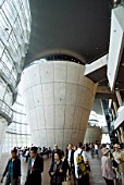 Interior of  new Tokyo National Arts Center in Roppongi, Tokyo, Japan, that opened in 2007; Architect Kisyo Kurokawa