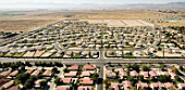 Planned Desert Community in Lancaster California, USA