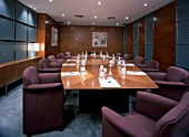 View of an elegant conference room