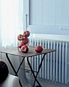 Close-up of apples on a table