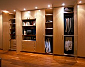 View an elegant wardrobe