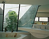 View of an elegant bathroom
