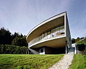 Residential housing, Seewalchen am Attersee, Austria, architects Luger & Maul,1994