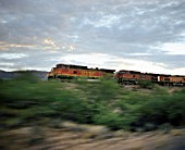 Burlington Northern and Santa Fe Railway (BNSF), transcontinantal railroads, Arizona, USA