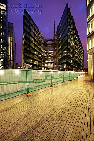 More London Riverside development south bank of the River Thames London The buildings were designed