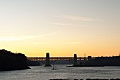 Britannia Bridge, Anglesey, North Wales, UK