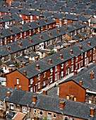 Terraced housing, Longsight, Manchester, Sherrington Street