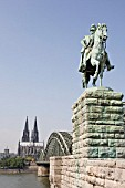 Statue of emperor wilhelm cologne