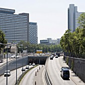 City motorway in munich