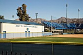 Amy S. Harrison Field, home to the UC Riverside Highlanders softball team, California, USA