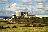 Wylfa Power Station, Isle of Anglesey, North West Wales.