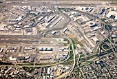 JFK Airport, New York, from above