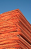 Detail Of A Copper Cathode Pack in Escondida, Chile