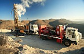 Drilling for Exploration in the middle of the Cordillera de la Costa, Copiap—, Chile