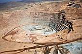 This is the second mine from Escondida, Escondida Norte. The copper production of Escondida is the biggest in the world.