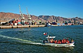 Tourist Boat In The Port Of Antofagasta