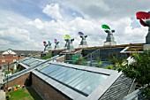 Bedzed, the UKs largest eco village, Beddington, London
