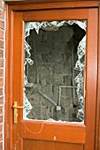 A house break in in Carlisle Cumbria UK