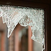 A house break-in in Carlisle, Cumbria, UK