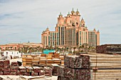 The Atlantis on the Palm a hyper luxury hotel in an area of Dubia that was reclaimed from the sea.