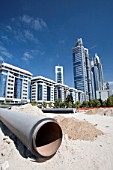 New buildings and building sites in Dubai