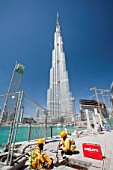 The Burj Dubai the worlds tallest building in Dubai