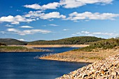 Much of South East Australia has been in the grip of a terrible drought for the last 15 years. Lake Eucumbene in the Snowy Mountains has fallen to very low levels.