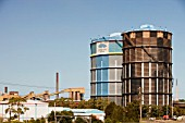 The Bluescope steel works at Port Kembla, Wollongong, Australia.