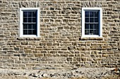 Stone masonry detail, Old Stone Farm House, Renovation, 1848 Beach Road, Kemptville, Ontario