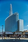 London Bridge station and the Shard. London, UK.