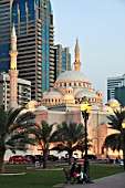 United Arab Emirates, Sharjah, Al Noor Mosque,