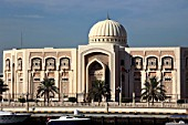 United Arab Emirates, Sharjah, Electricity & Water Authority Building,