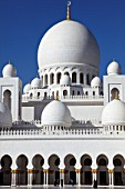 United Arab Emirates, Abu Dhabi, Sheikh Zayed bin Sultan al-Nahyan Mosque,