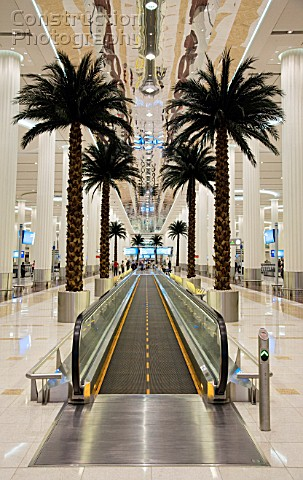 Dubai Airport terminal 3 United Arab Emirates