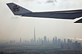 Wing of aeroplane, Dubai, UAE