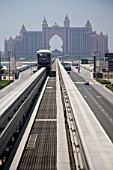 Gateway, Palm Jumeirah, Monorail 2009, Dubai United Arab Emirates