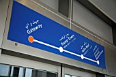 Monorail map, Dubai, UAE