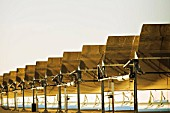 Solar electric generating plant
