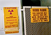 Radiation warnings at nuclear power plant