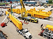 Construction of gantry crane for nuclear power plant