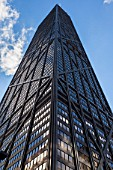 The John Hancock Tower, Michigan Avenue, Chicago