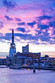 The Shard of Glass at dawn