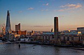 The Shard of Glass and Tate Modern